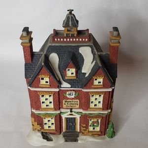 Dept 56 Boarding and Lodging School